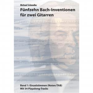 Fünfzehn Bach-Inventionen für zwei Gitarren, Band 1