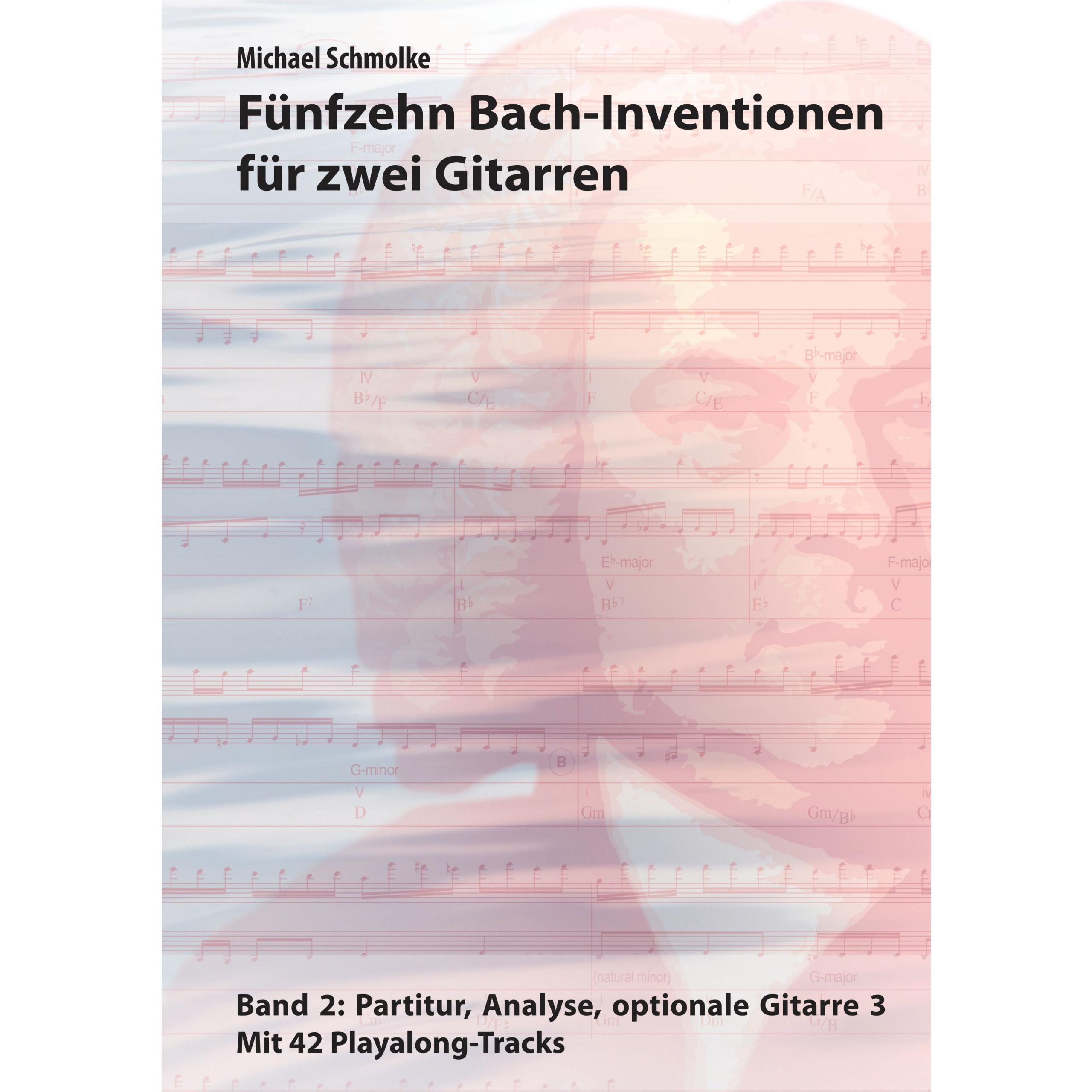 Fünfzehn Bach-Inventionen für zwei Gitarren, Band 2en