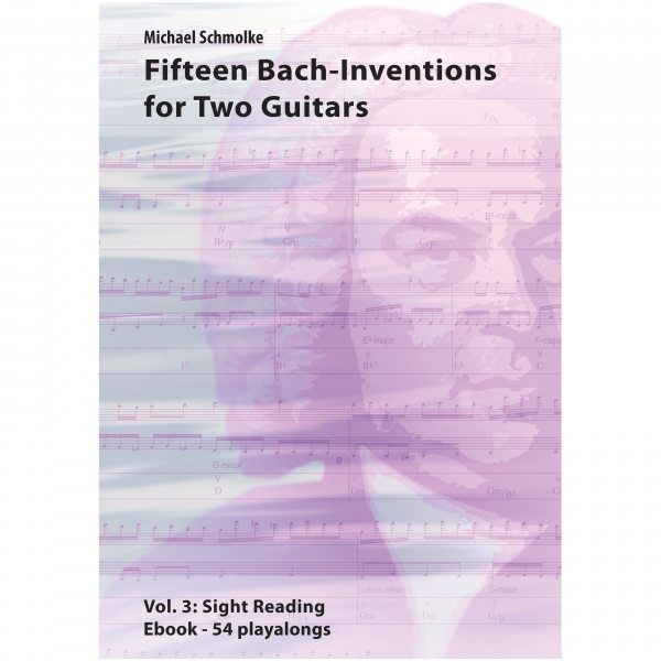 Fifteen Bach Inventions For Two Guitars
